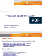 Proceso Import Ac i On