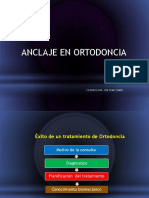 Anclaje en ortodoncia