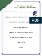 Transmision Electronica de La Declaracion Aduanera Única DAU