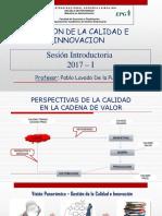 Sesion Introductoria - Gestion de La Calidad 2017 i
