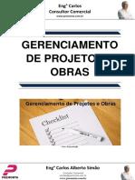 Gerenciamento de Projetos e Obra