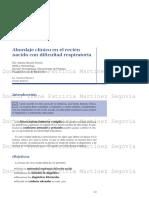 Abordaje Clinico en RN Con SDR