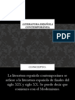 Literatura española contemporánea.pptx