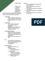 Aub Physical Examination of Urine