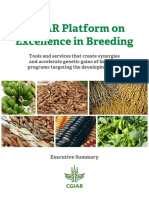 CGIAR Excellence in Breeding Platform 2017 2022 Summary Proposal