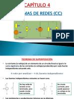 Capítulo 4 - Teoremas de Redes (CC)