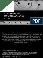 ART800 - CIRCUITOS DE COMUNICACIONES RESUMEN