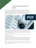 Cómo Tener Éxito en Los Proyectos de CCTV en 7 Pasos