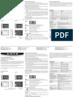 Rotronic HL 1D TL 1D Manual
