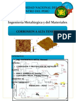 Corrosion a Altas Temperaturas - Impresion