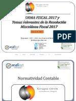 0. Presentacion Reforma Fiscal 2017 Con Rmf (Gc)
