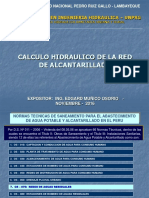 2. CALCULO HIDRAULICO RED ALCANTARILLADO 19 NOV 2016.ppt