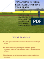 Five Year Plans of India..