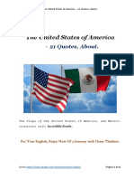 21 Quotes - The United States of America