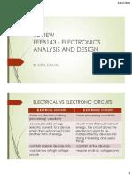 Review - Circuit Analysis