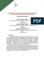 Analisis Conceptual de Modelos de Compet