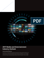 Us 2017 Media and Entertainment Industry Outlook