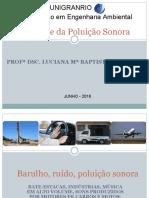 Material de Controle de Poluição Sonora 1