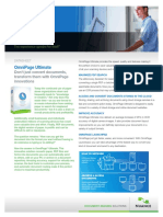 Nuance Omnipage Ultimate brochure
