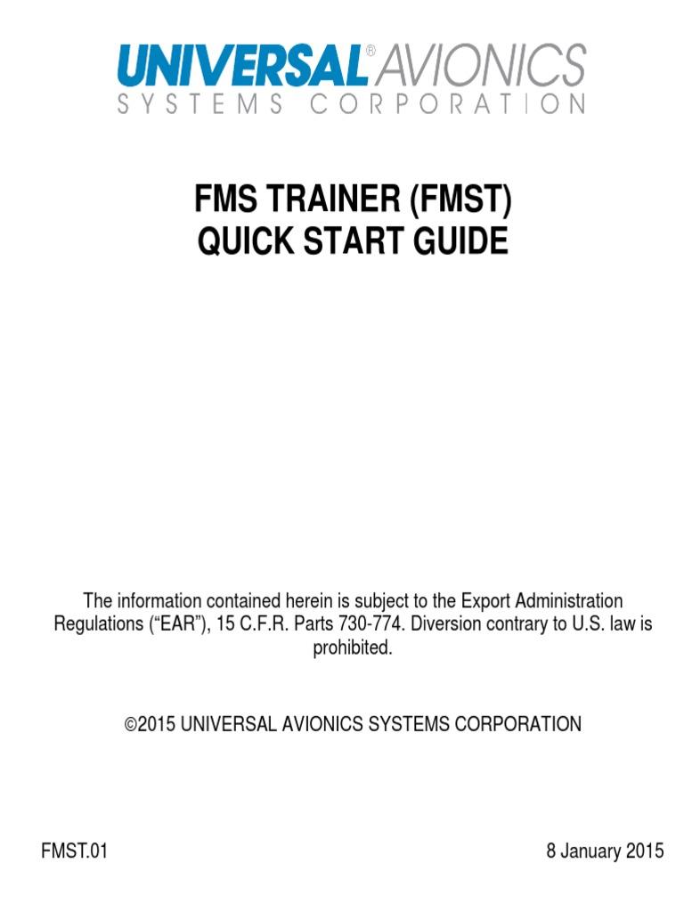 UASC FMST Quickstart Guide | Usb Flash Drive | Adobe Flash
