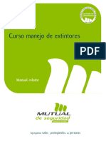 Manual Extintores
