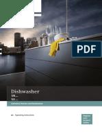 Dish Washer Siemens User Manual 90008169467