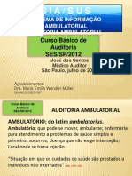 Siasus Auditoria Ambulatorial Dr Jose Dos Santos