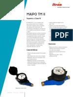 ITRON Maipo TMII 15-20 Medidor Map