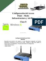 Configuración Del Access Point - Modo Infraestrucutra y Ad-Hoc