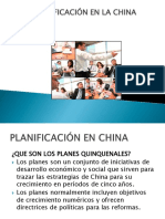 Planificación en China