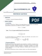 Informe de Lab 6-Resistencia Electrica