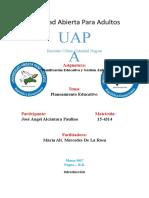 TAREAA 2 Planificacion Educativa