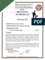 Informe Final de Metodos Numericos 2