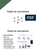 Reţele de Calculatoare
