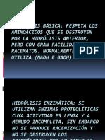 Hidrólisis básica