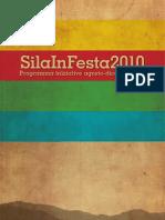 SilaInFesta 2010 - Il programma agosto-dicembre