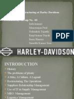 Case Study on Harley Davidson