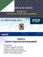 Sesion Xiv - Ingenieria de Gestion - Gestion de Los Recursos Humanos v1_0