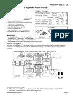 BTS621L1 SmartFET Siemens