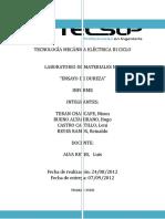 105336988 Laboratorio de Materiales Ensayo de Dureza
