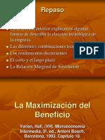 20.- Maximizacion Del Beneficio