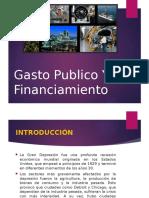 Gasto Publico y Su Financiamiento
