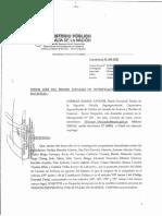 Solicitud de prisión preventiva (Humala - Heredia)
