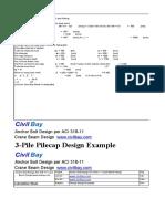 Design of Pile 4