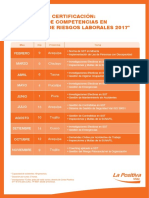 Calendario Academico Provincia 2017