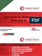 Ejecucion de Ingreso en El SIAF_SP_2014_I