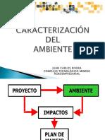 Caracterización Medio Ambiente Aspi y Fari