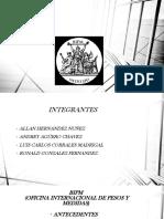 Presentacion de Metrologia( BIPM) 1