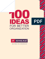 100_Ideas - For Better Organization