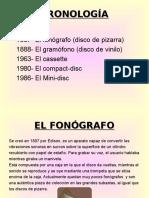 Historia de la Grabación de Sonido